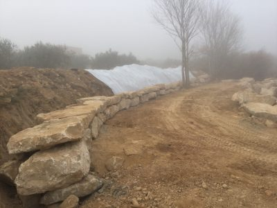 Obras realizadas en Caspe-Sector Chacón